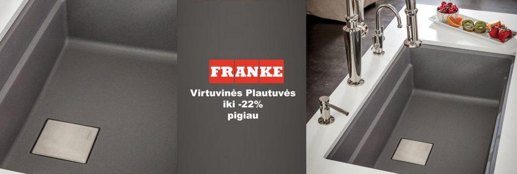 Franke Plautuvės - El.parduotuvėje LaikasNamams.lt