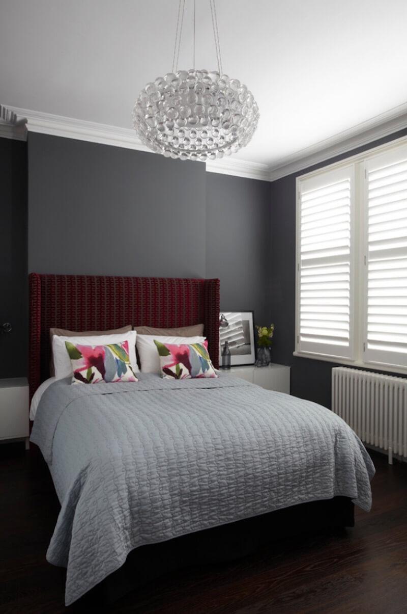 tekstūros miegamajame