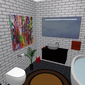 vonios dizainas planner 5d